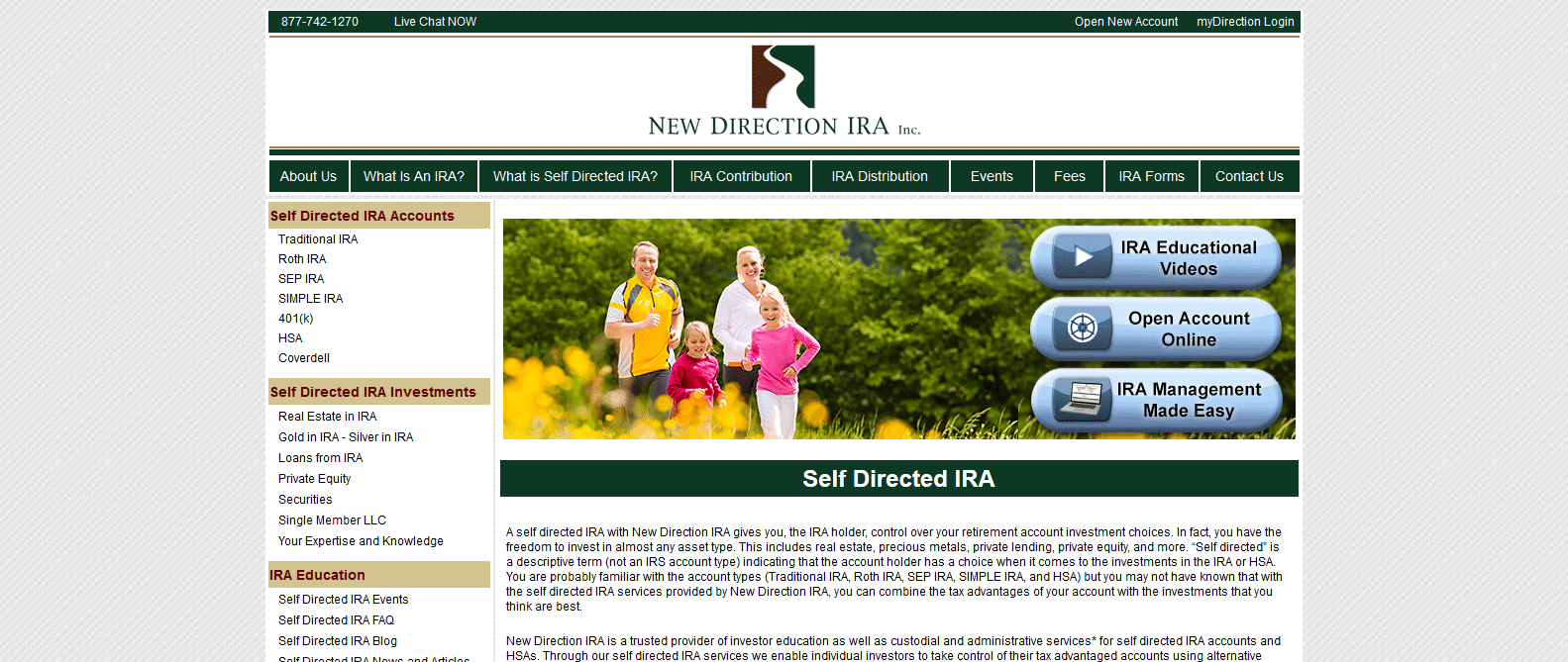new direction ira review