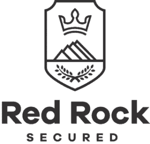 red rock secured logo