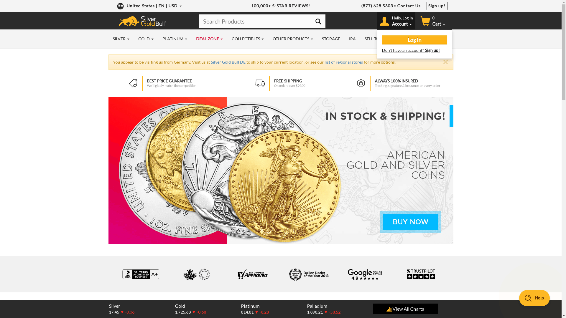 silver gold bull screenshot